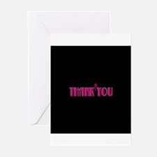 Thank You -Pink Greeting Cards (Pk of 10)