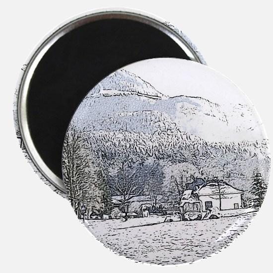 austrian landscape digital Magnets