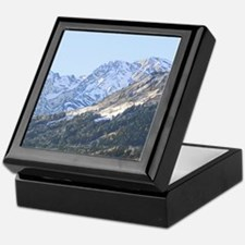 austrian landscape digital Keepsake Box