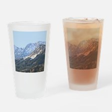 austrian landscape digital Drinking Glass