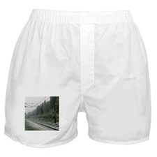 railroad track digital Boxer Shorts