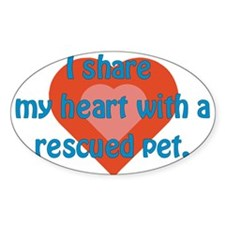 Share My Heart Decal