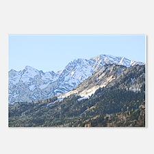 austrian landscape digital Postcards (Package of 8