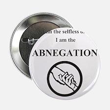 """abnegation divergent 2.25"""" Button"""