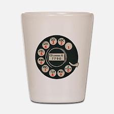 Retro Rotary Phone Shot Glass