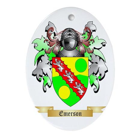 Emerson Ornament (Oval)