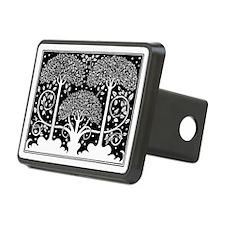 Art Nouveau Vintage Tree Pattern Hitch Cover