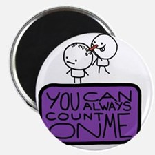 Count On Me Magnet
