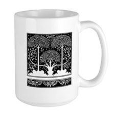Art Nouveau Vintage Tree Pattern Mugs