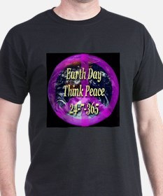 Earth Day Think Peace T-Shirt