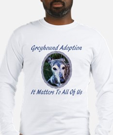 IT MATTERS TO ALL OF US MENS LONG SLEEVE TEE