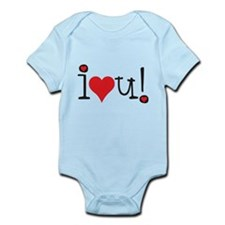 i love you! Body Suit