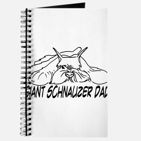 Unique Giant schnauzer Journal