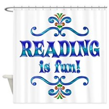 Reading is Fun Shower Curtain