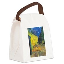 Van Gogh Cafe Terrace at Night Canvas Lunch Bag