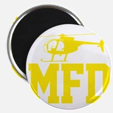MFD Hughes 500D Helicopter Magnet