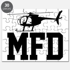 MFD Hughes 500D Helicopter Puzzle