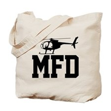 MFD Hughes 500D Helicopter Tote Bag