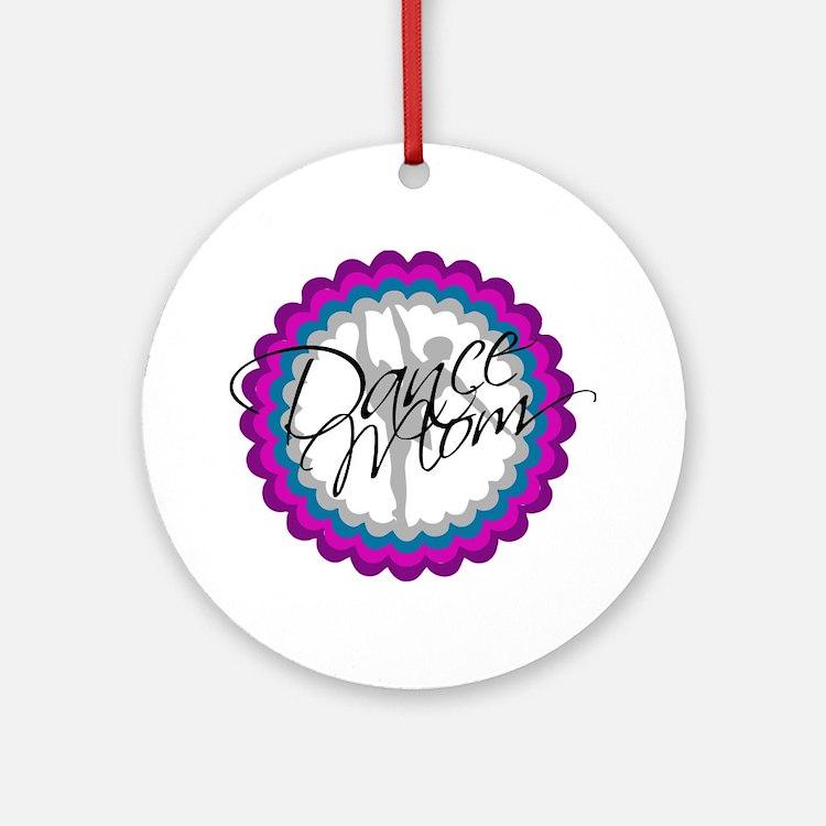 Dance Mom New Round Ornament