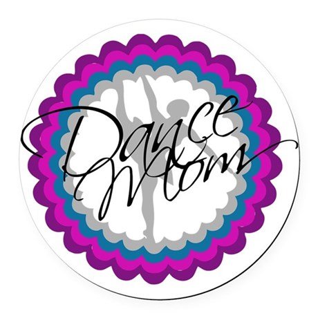 Dance Mom New Round Car Magnet
