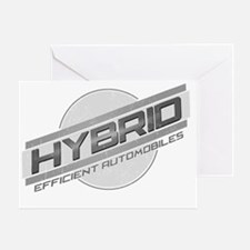 Hybrid Cars Greeting Card