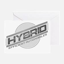 Hybrid Cars Greeting Card