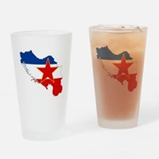 Yugoslavia Drinking Glass