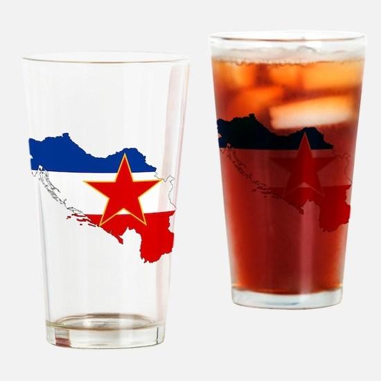 Yugoslavia Drinking Glass
