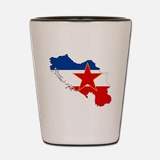 Yugoslavia Shot Glass