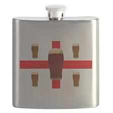 English Beer Flask