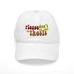 Thesis Baseball Cap