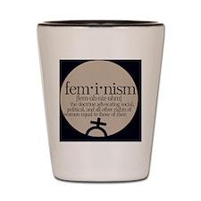 Feminism Defined Shot Glass