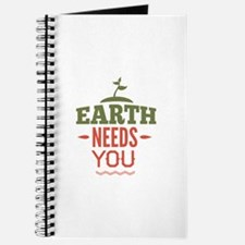 Earth Needs You Journal