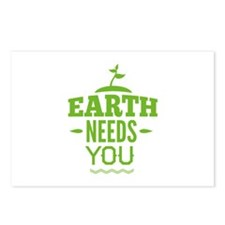 Earth Needs You Postcards (Package of 8)