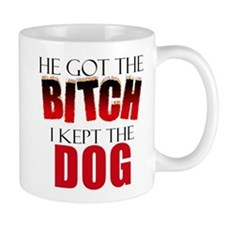 Dog Divorce Settlement Mug