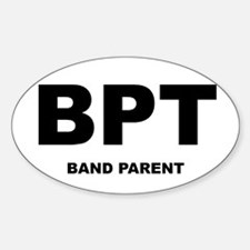 Band Parents Oval Decal