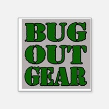 Bug Out Gear Sticker