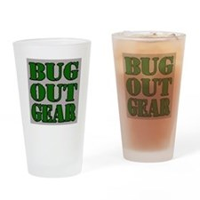 Bug Out Gear Drinking Glass