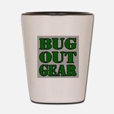 Bug Out Gear Shot Glass