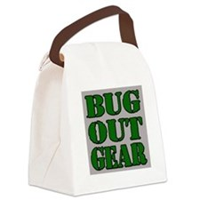 Bug Out Gear Canvas Lunch Bag