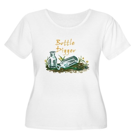 Bottle Digger Women's Plus Size Scoop Neck T-Shirt