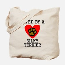 Saved By A Silky Terrier Tote Bag