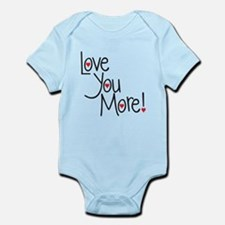 Love you more! Body Suit