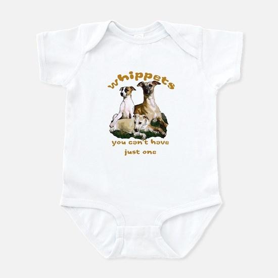 Just one whippet Infant Bodysuit