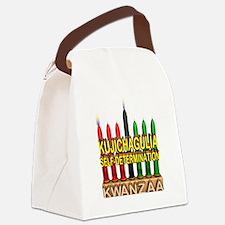 kwanzaa Canvas Lunch Bag