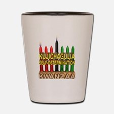kwanzaa Shot Glass