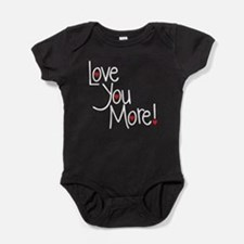Love you more Baby Bodysuit