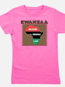 Kwanzaa Girl's Tee