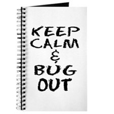 Keep Calm and Bug Out Journal
