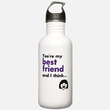 Best Friends 4Eva Water Bottle